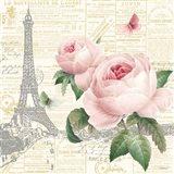 Roses in Paris III Art Print