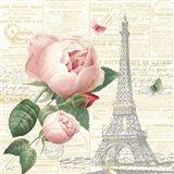 Roses in Paris IV Art Print