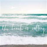 The Beach is Calling Art Print