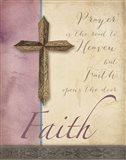 Words for Worship Faith Art Print
