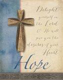 Words for Worship Hope Art Print