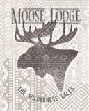 Soft Lodge V Art Print