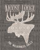 Soft Lodge V Dark Art Print