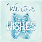 Snowflake Sayings II Art Print