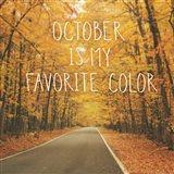 October Color II Art Print