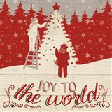 Holiday in the Woods IV Art Print