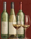 Bistro Paris White Wine Art Print