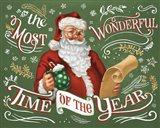Santas List II Art Print