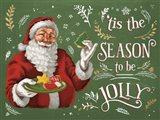 Santas List III Art Print