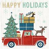 Holiday on Wheels III Art Print