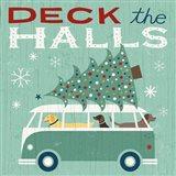 Holiday on Wheels IV Art Print
