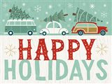 Holiday on Wheels IX Art Print