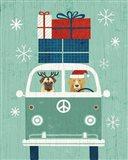 Holiday on Wheels XII Art Print