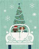 Holiday on Wheels XIII Art Print