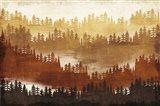 Mountainscape Spice Art Print
