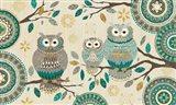 Cool Feathers V Art Print