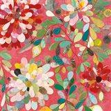 Red and Pink Dahlia II Art Print