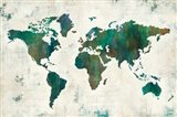 Discover the World Art Print