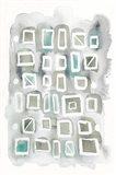 Watercolor Squares Art Print