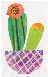 Collage Cactus II Art Print