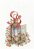 Holiday Lantern I Art Print