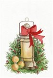 Holiday Lantern II Art Print