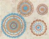 Lakai Circles Art Print