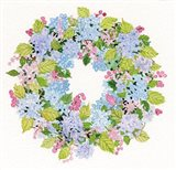 Spring Wreath I Art Print