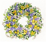 Spring Wreath III Art Print