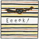 Halloween Eeek Bat Art Print