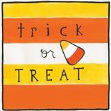 Halloween Trick or Treat Candy Corn Art Print