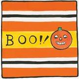 Halloween Boo Pumpkin Art Print