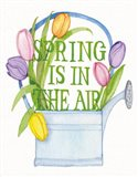 Spring Saying III WAL Art Print