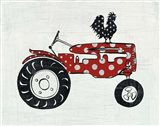 Modern Americana Farm V Art Print