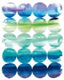 Summer Dots v.2 Art Print