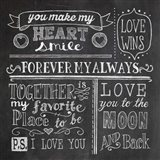 Inspiration Chalkboard I Art Print