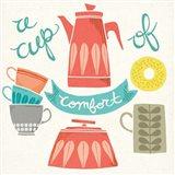 A Cup of Comfort Art Print