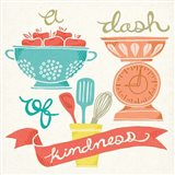 A Dash of Kindness Art Print