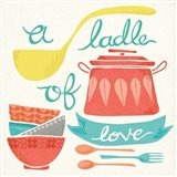 A Ladle of Love Art Print