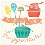 A Pinch of Happiness Art Print