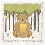 Woodland Hideaway Bear Art Print