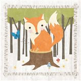Woodland Hideaway Fox Art Print