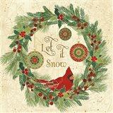 Winter Feathers VII Art Print