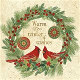 Winter Feathers VIII Art Print
