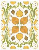 Retro Onion Otomi Art Print