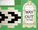 Iconic London Underground Art Print