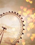 In Love with London Crop Art Print