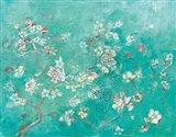 Butter Blossoms Flowers Art Print