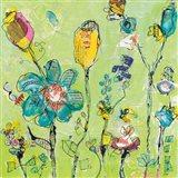 Doodle Garden Art Print