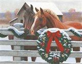 Christmas in the Heartland II Art Print